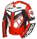 V-ROD Mens Motorbike Leather Jacket