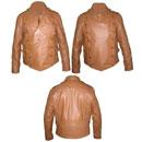 Mens Fashion soft leather jacket