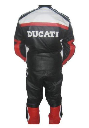 New Stylish DUCATI Brand  Motorbike Race Leather Suit