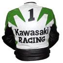 Kawasaki Racing Motorbike Leather Jacket