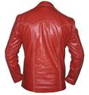 new redish style soft leather jacket