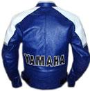 Yamaha Motorbike Cow Hide Leather Jacket