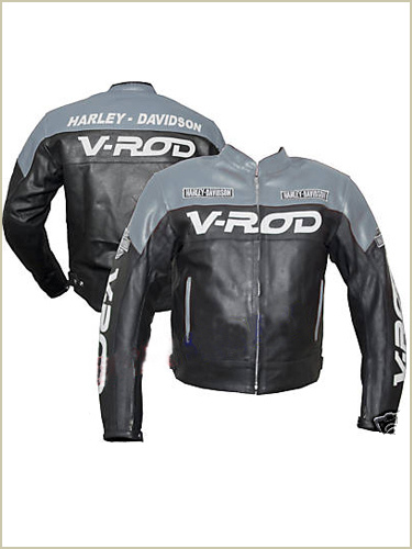 harley davidson v rod motorcycle leather jacket
