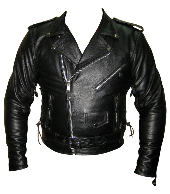 Classic Leather Jacket | Black Leather Jacket | Leather Jacket For Men