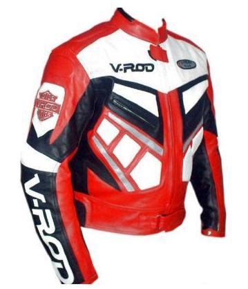 v rod mens motorcycle leather jacket