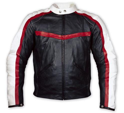 motorcycle fashion leather jacket