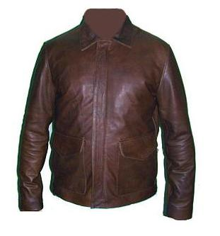 vintage dark brown cowhide aniline leather jacket